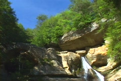 Hocking Hills state park - Logan, Ohio  Stock Footage