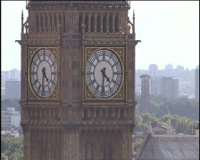 London - Big Ben, PAL Stock Footage