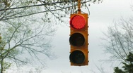 Stock Video Footage of Stoplight