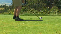Three Scenes of Golf (2 of 5) Stock Footage