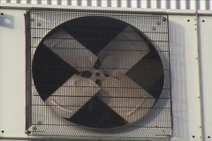 Stock Video Footage of Industrial air conditioner