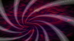 Abstract blue whirlwind/spiral. HD 1080i. 14 seconds Stock Footage