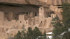 Mesa Verde Cliff Palace right side P HD Stock Footage