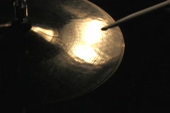 HI HAT CYMBALS Stock Footage