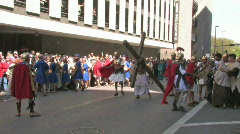 Passion Play SAT Cross P HD - stock footage