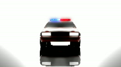 Police car special Stock Footage