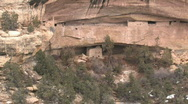 Stock Video Footage of Mesa Verde cliff dwelling P HD