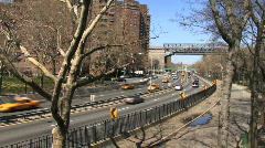 FDR Drive New York 05 - stock footage