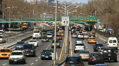 FDR Drive New York 04 - stock footage