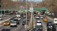 Stock Video Footage of FDR Drive New York 04