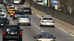 Stock Video Footage of Police On The FDR Drive New York City