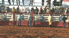 Rodeo final ready M HD Stock Footage