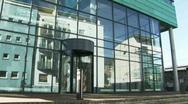 Modern building Stock Footage