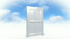 Relgion and Doorway to heaven Stock Footage