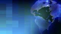Globe Rotating Stock Footage