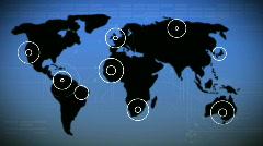 Globe Rotating - stock footage