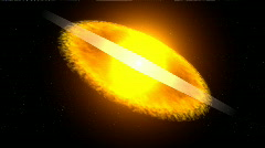 HD. Supernova explosion Stock Footage