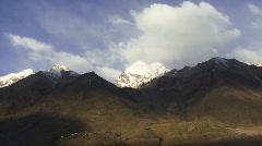 Himalayan Mountain Time Lapse Stock Footage