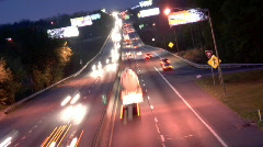 Highway Time Lapse Stock Footage