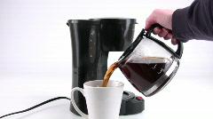 Coffee Fix Stock Footage