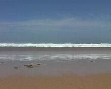 Ocean waves in Portugal Stock Footage