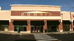 Domain Store Closed Stock Footage