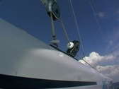 Stock Video Footage of Yacht at sea