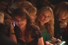 Paula Abdul and Hayden Panettiere Stock Footage