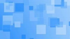Infinite loop of blue squares background Stock Footage