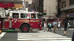 Fire Department New York Stock Footage