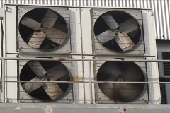 Industrial air conditioner Stock Footage