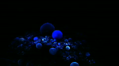 Bubble Rotation Stock Footage
