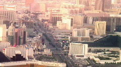 vegas (normal) sun glow - stock footage