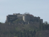 Stock Video Footage of Castle Hohenneuffen