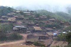 Laos: Rural Ethnic village Stock Footage