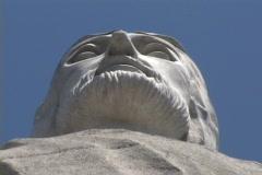 Honduras: Statue of Christ  Stock Footage