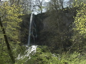 Stock Video Footage of Bad Urach Waterfall