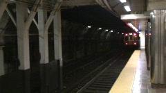 Boston Underground Stock Footage