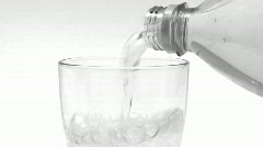 Glass of Water - stock footage
