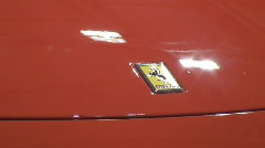 Ferrari 430 scuderia Stock Footage