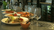 Stock Video Footage of Tapas bar, HD