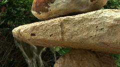 Balanced rocks Stock Footage