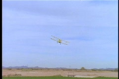 Stock Video Footage of Cropduster Flyby