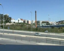 Portugese road Stock Footage