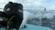 Outboard Motor Stock Footage