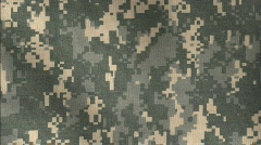 ACU Camo pattern background - stock footage