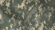 Stock Video Footage of ACU Camo pattern background