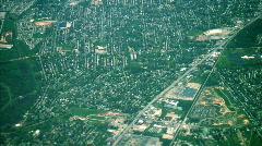 Sprawl eastern usa aerial Stock Footage