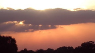 Sunset 91 WIDE Stock Footage