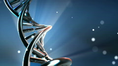 Chrome DNA Stock Footage